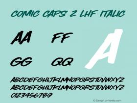 Comic Caps 2 LHF