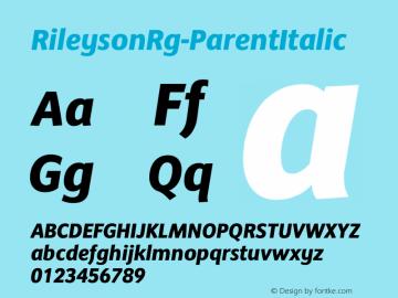 RileysonRg-ParentItalic
