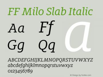 FF Milo Slab