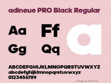adineue PRO Black