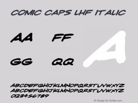 Comic Caps LHF