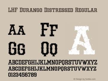 LHF Durango Distressed