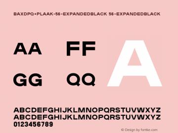 BAXDPQ+Plaak-56-ExpandedBlack