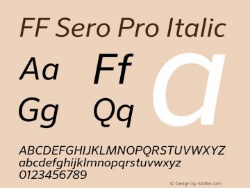 FF Sero Pro