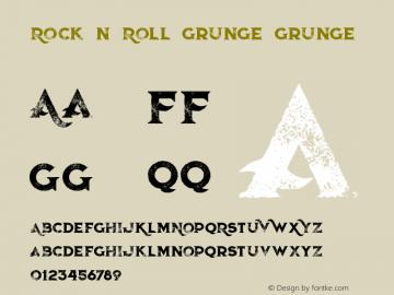 Rock n Roll Grunge