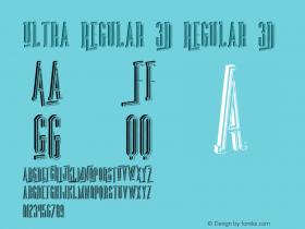 Ultra Regular 3D
