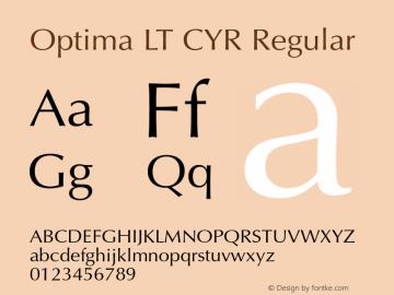 Optima LT CYR