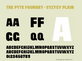 The Pyte Foundry -