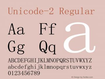 Unicode-2