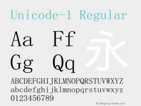Unicode-1