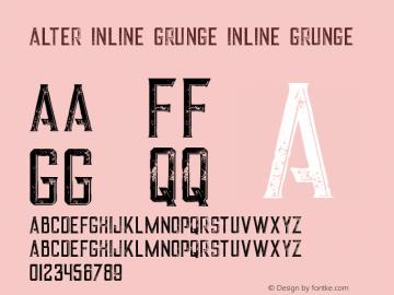 Alter Inline Grunge