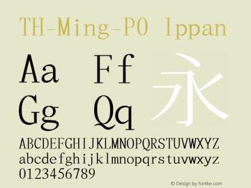 TH-Ming-P0