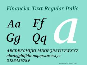 Financier Text