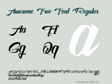 Awesome Free Font