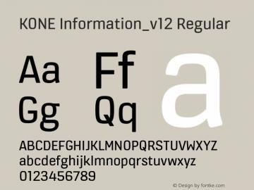 KONE Information_v12