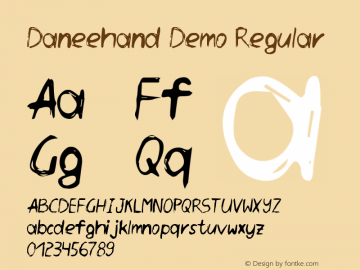Daneehand Demo