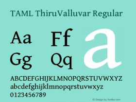 TAML ThiruValluvar