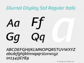 Diurnal Display Std