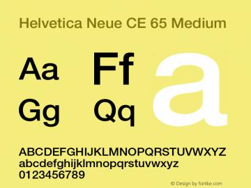 Helvetica Neue CE 65