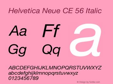Helvetica Neue CE 56