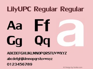 LilyUPC Regular