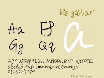 张瀚宸大神的英文手写字体