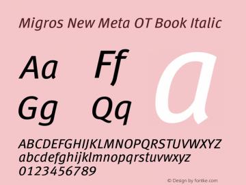 Migros New Meta OT