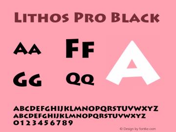 Lithos Pro