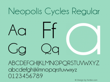 Neopolis Cycles