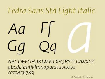 Fedra Sans Std