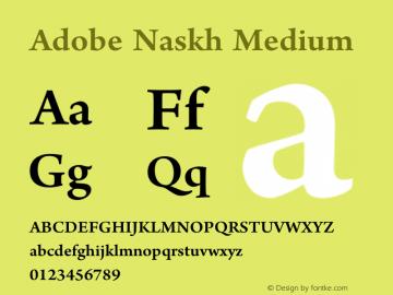 Adobe Naskh