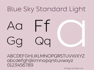 Blue Sky Standard