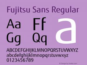 Fujitsu Sans