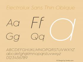 Electrolux Sans