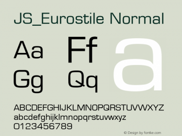 JS_Eurostile