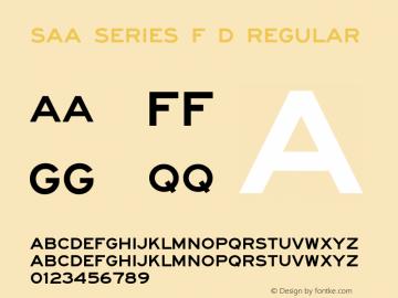 Saa Series F D