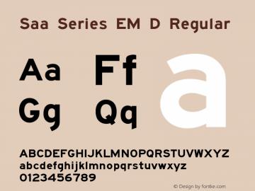 Saa Series EM D