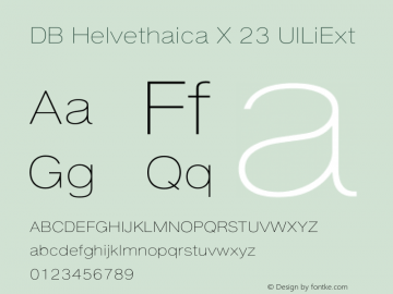 DB Helvethaica X