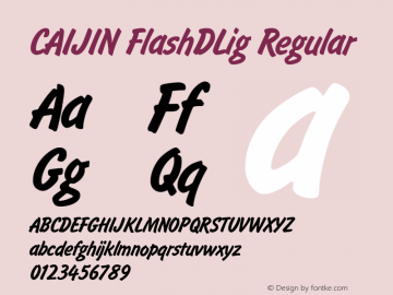 CAIJIN FlashDLig