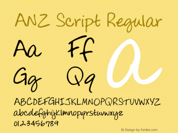 ANZ Script