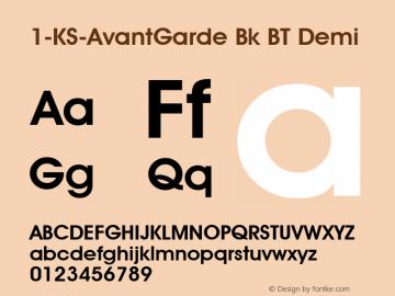 1-KS-AvantGarde Bk BT