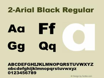 2-Arial Black