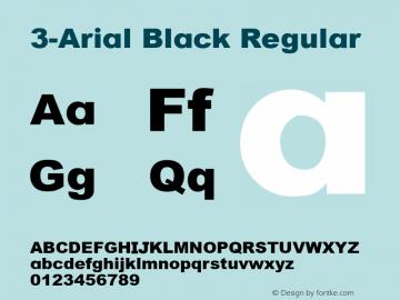 3-Arial Black