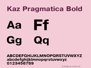 Kaz Pragmatica