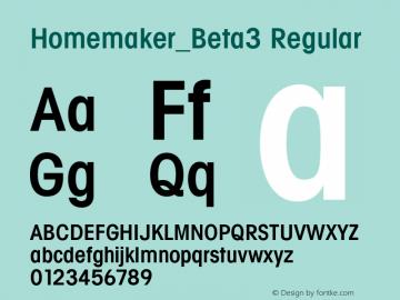Homemaker_Beta3