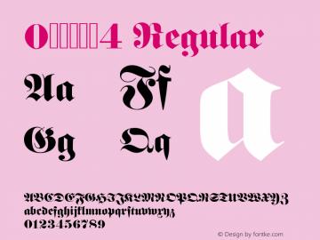 0哥特式字体4