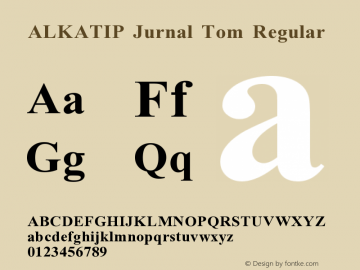 ALKATIP Jurnal Tom