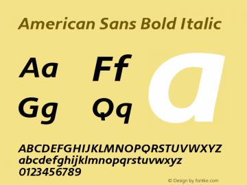 American Sans