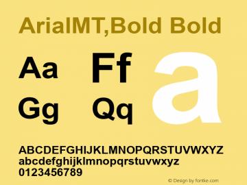 ArialMT,Bold