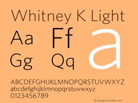 Whitney K